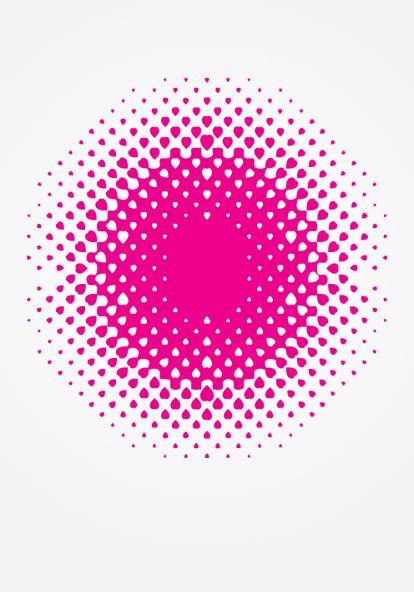 Heart toned pattern